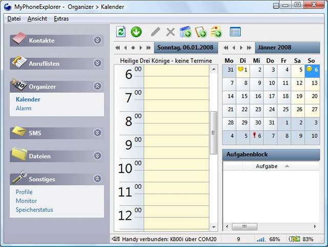 Программу Управления Телефоном Sony Ericsson