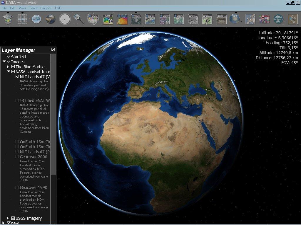 Виртуальный глобус земли онлайн